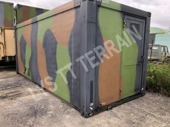 Abri modulaire de commandement 6 m