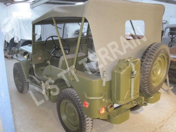 jeep M201 reconditionnée