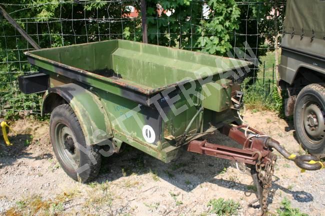 Remorque jeep 1/4 T bantam
