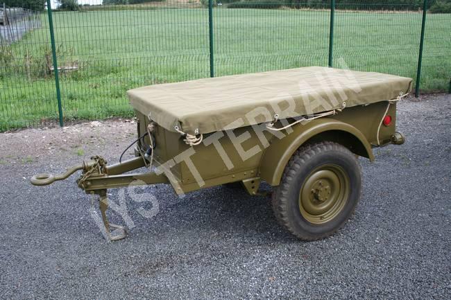 Remorque jeep Bantam 1/4T