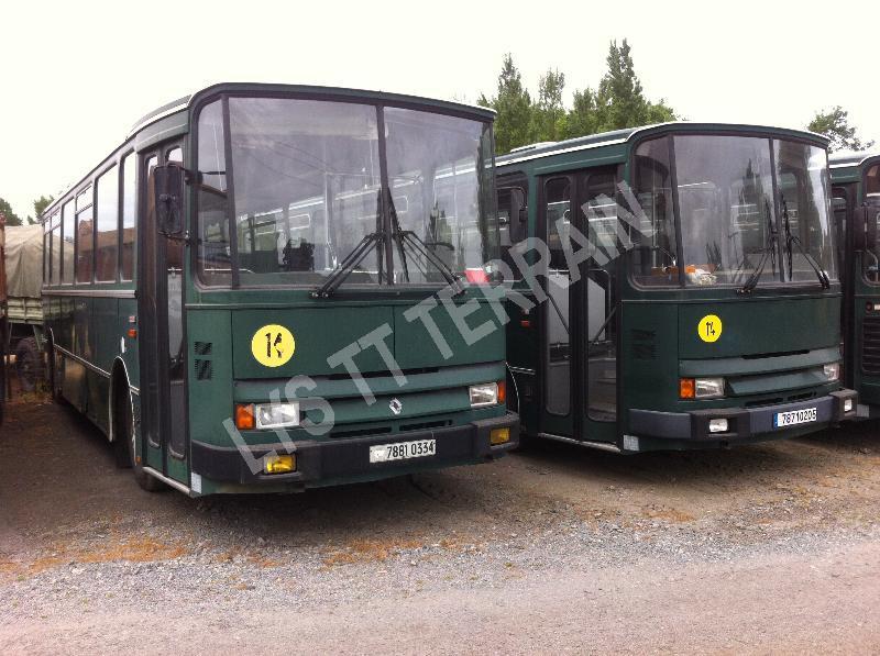 renault s45 rx bus et autocars vente camion militaire occasion nord pas de calais. Black Bedroom Furniture Sets. Home Design Ideas